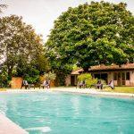 Profitez de la piscine du Domaine pour vos réceptions